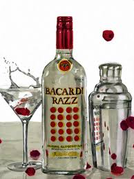 bacardi razz cocktail