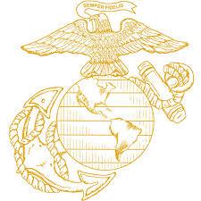 eagle globe anchor