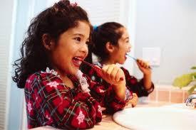 kid brush teeth