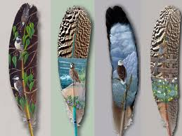 art feather