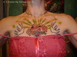 sacred heart tattoo design