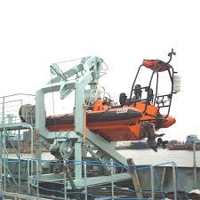 rescue boat davits