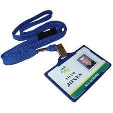 lanyard name tags