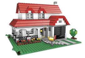 how to make lego houses