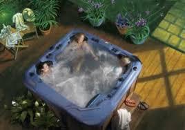 hot tub decking