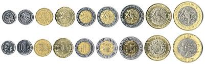 mexican currency coins