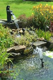 backyard waterfall pictures
