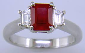 red ruby rings