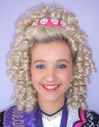 irish step dancing wigs