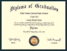 high school diploma pictures