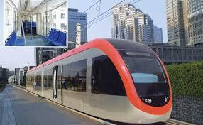 light rail vehicle