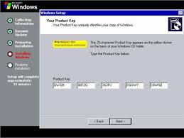 windows server 2003 license key