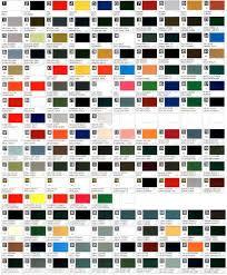 carta de colores de pinturas
