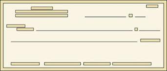 blank check clip art