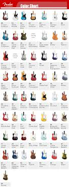 fender color