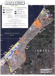maps of gaza
