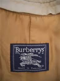 burberrys coat