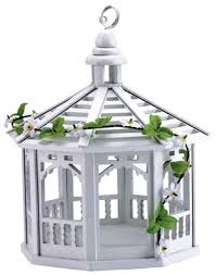 gazebo birdfeeders