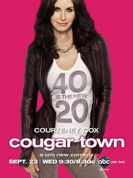Cougar Town starring Courtney