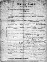 marriage document