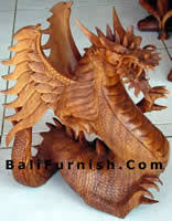 wooden dragons