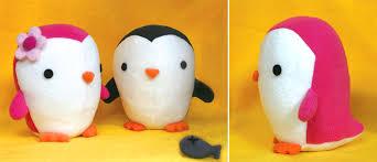 penguin soft toys