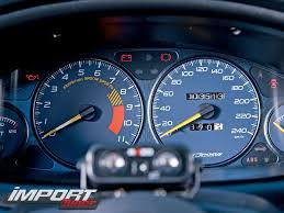 acura integra gauges