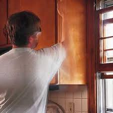 kitchen cabinet sanding