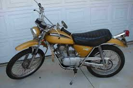old honda dirt bike