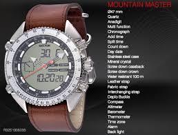 mountain watches