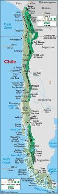 chilean map