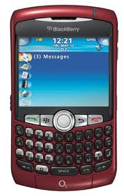 blackberry curve 8900 red