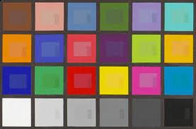 bright color chart