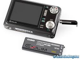casio exilim usb