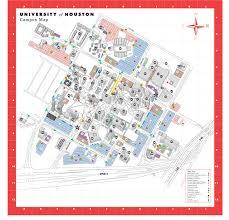 university of houston map