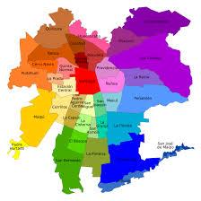 mapa de las comunas