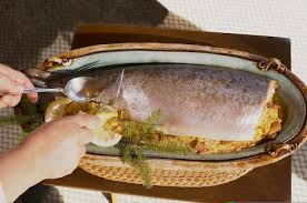 salmon for dinner