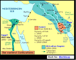 ancient mesopotamia maps