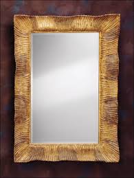 carved wood mirrors