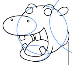 hippopotamus cartoons