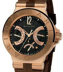 bvlgari gold watches
