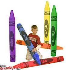 big crayons