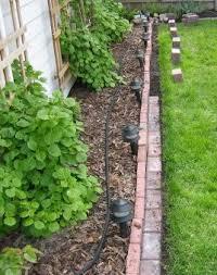 brick garden border