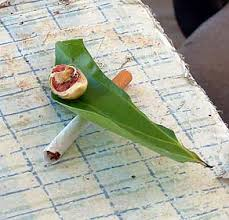 betel nut chewing