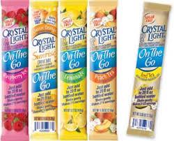 crystal light singles