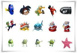 icons cartoon