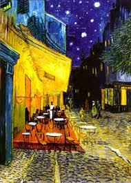 cafe at night