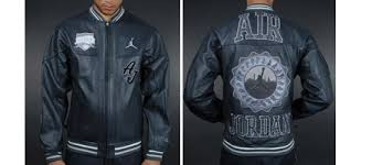 jordan leather jackets