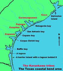 map of texas coast