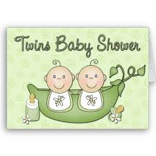 baby shower invitations twins